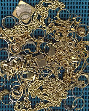 Scrap gold jewelry buyers, broker & refiners in the USA